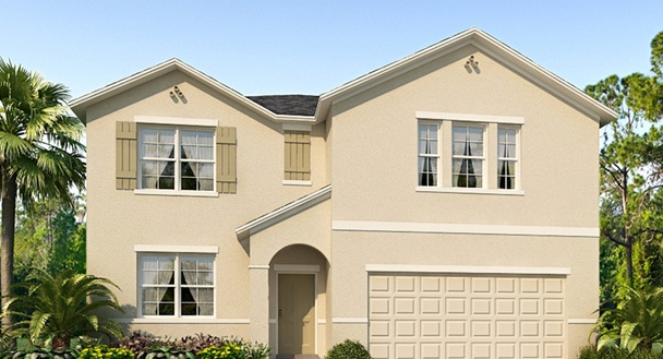New Homes in Zephyrhills Florida 33545