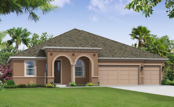 William Ryan Homes Elenor Place South Tampa Florida