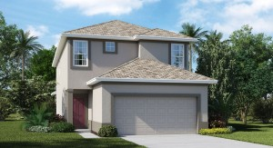 Vista-Palms-Manors/The Rockefeller 2,574 sq. ft. 4 Bedrooms 3 Bathrooms 2 Car Garage 2 Stories Wimauma Fl