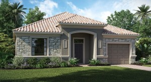 ChampionsGate Florida/The Aruba 2,212 sq. ft. 4 Bedrooms 3 Bathrooms 1 Car Garage 1 Story