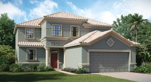 ChampionsGate Florida The Bali 2,767 sq. ft. 5 Bedrooms 4.5 Bathrooms 2 Car Garage 2 Stories