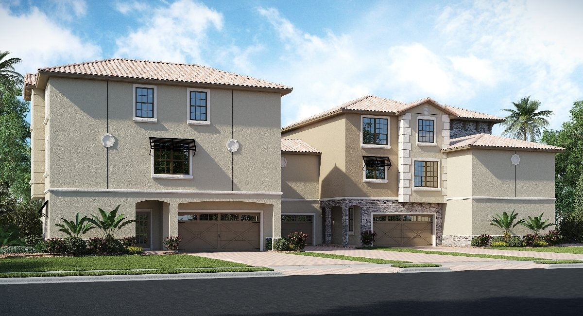 ChampionsGate Florida/The Bransford 2,348 sq. ft. 4 Bedrooms 3.5 Bathrooms 2 Car Garage 3 Stories