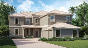 ChampionsGate Florida/The Buckingham 3,711 sq. ft. 4 Bedrooms 3 Bathrooms 3 Car Garage 2 Stories