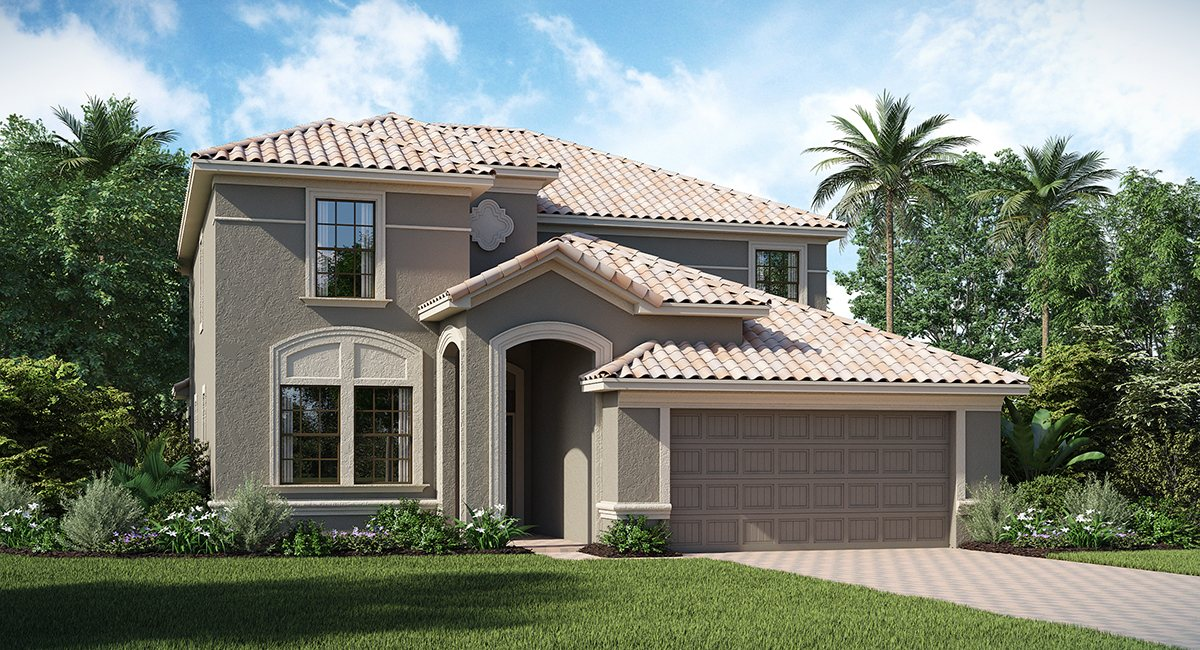 ChampionsGate Florida/The Cayman 3,051 sq. ft. 6 Bedrooms 6 Bathrooms 2 Car Garage 2 Stories