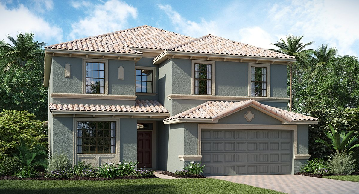 ChampionsGate Florida/The Fiji 3,348 sq. ft .6 Bedrooms 6 Bathrooms 2 Car Garage 2 Stories