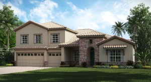 ChampionsGate Florida The Grande Charleston 3,353 sq. ft. 4 Bedrooms 4 Bathrooms 3 Car Garage 2 Stories