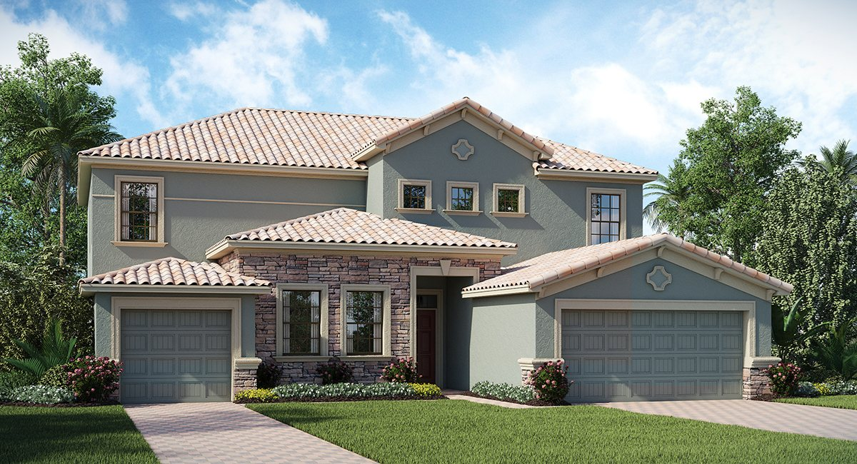 ChampionsGate Florida/The Liberation 3,858 sq. ft. 6 Bedrooms 4.5 Bathrooms 3 Car Garage 2 Stories