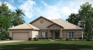 ChampionsGate Florida/The St. Andrews Grande 4,846 sq. ft. 5 Bedrooms 3 Bathrooms 2 Car Garage 2 Stori