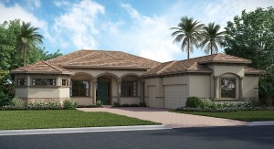 ChampionsGate Florida/The Stockton Grande 3,090 sq. ft. 4 Bedrooms 3 Bathrooms 3 Car Garage 1 Story